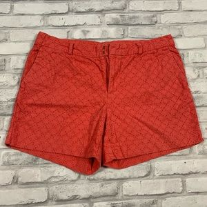 3For$20 Banana Republic Shorts Coral size: Sz10